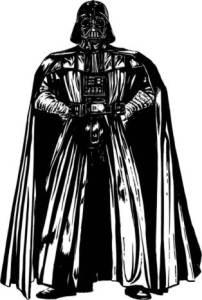 Imposing Darth Vader